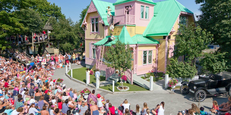 Villa Villekulla i Kneipppbyn