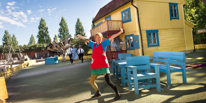 Pippi på Astrid Lindgrens Värld