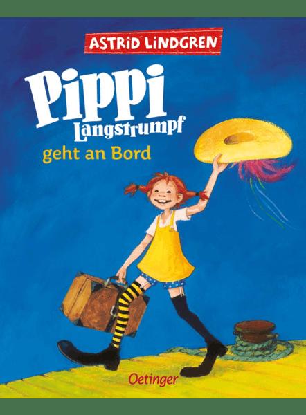 Cover Pippi geht an Bord