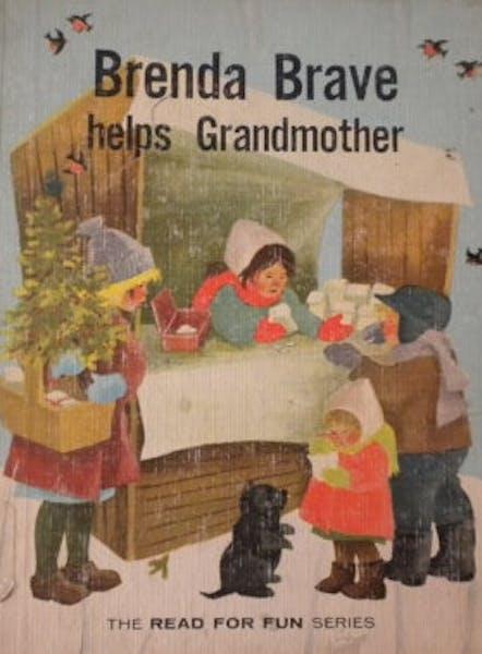 Cover Brenda Brave Helps Grandmother