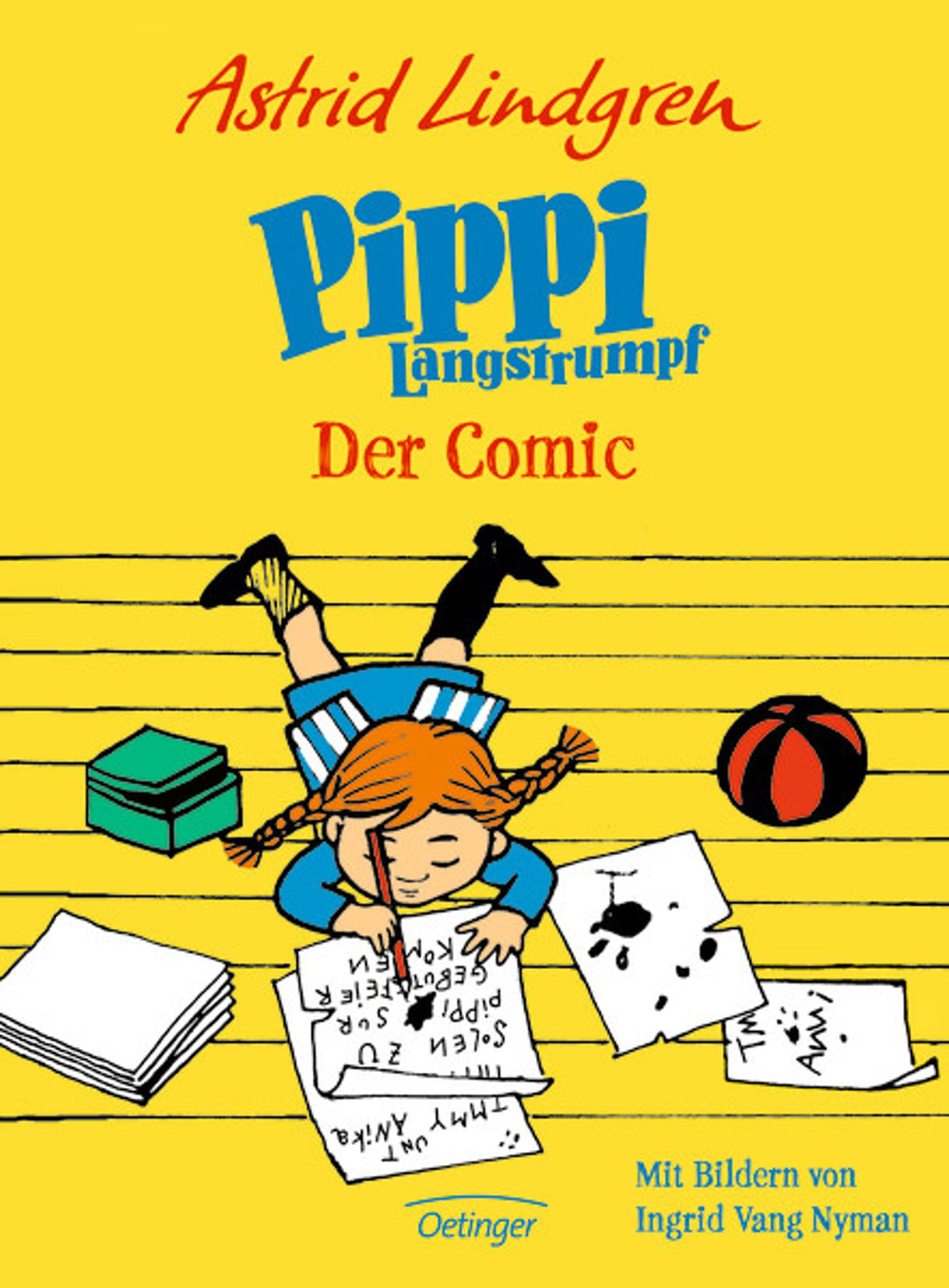Cover Pippi Der Comic