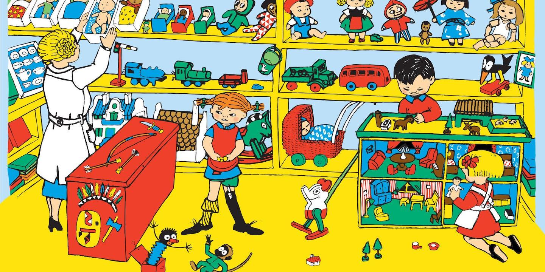 Pippi i leksaksaffären