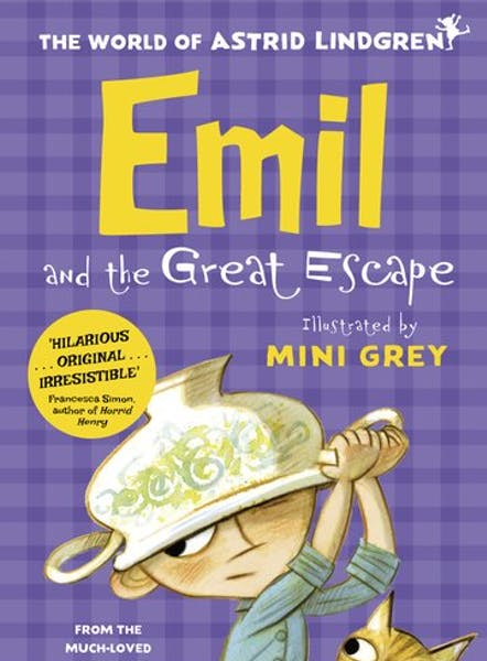 Emil and the Great Escape, cover by Mini Grey