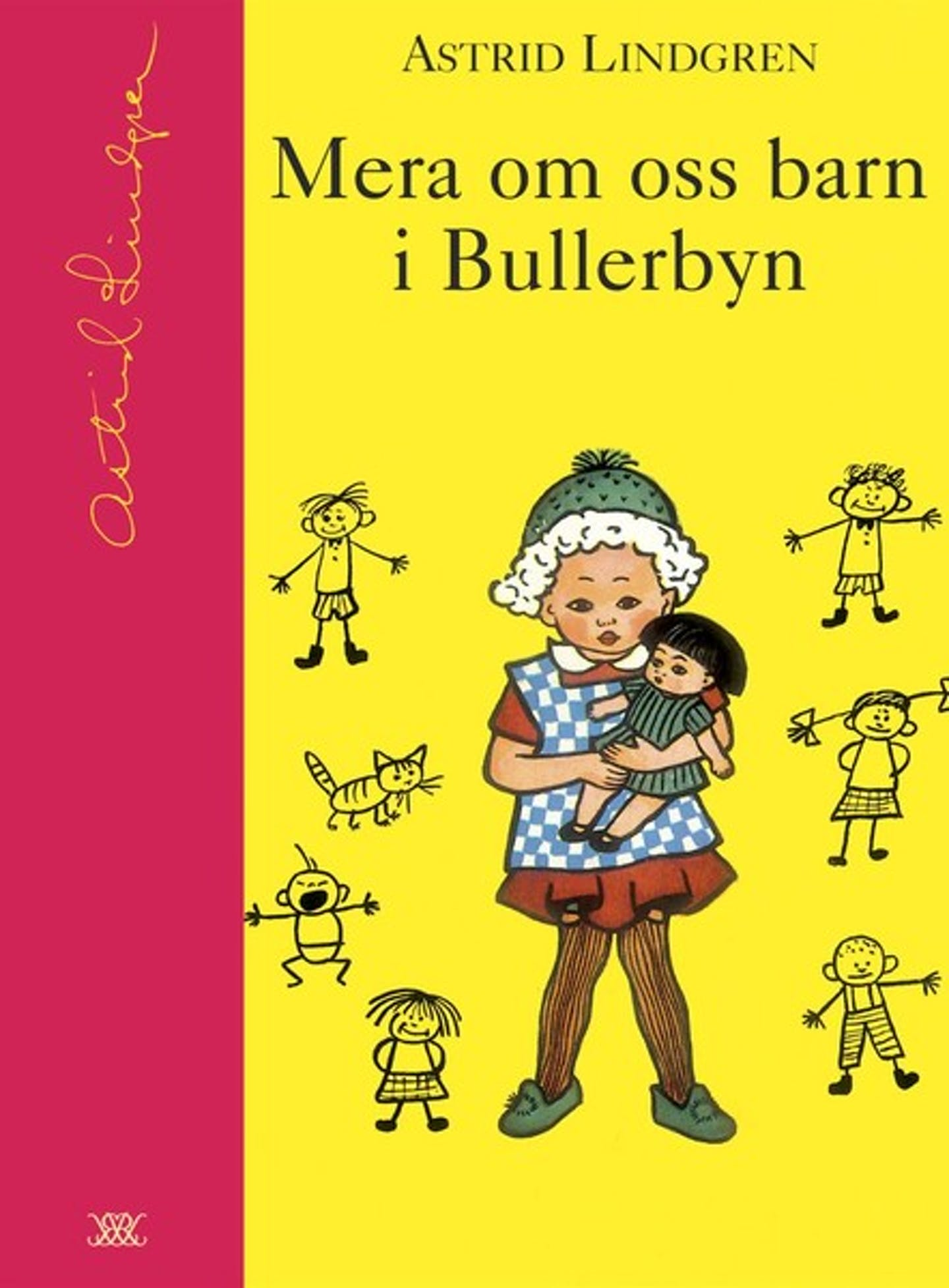 Omslag Mera om oss barn i Bullerbyn