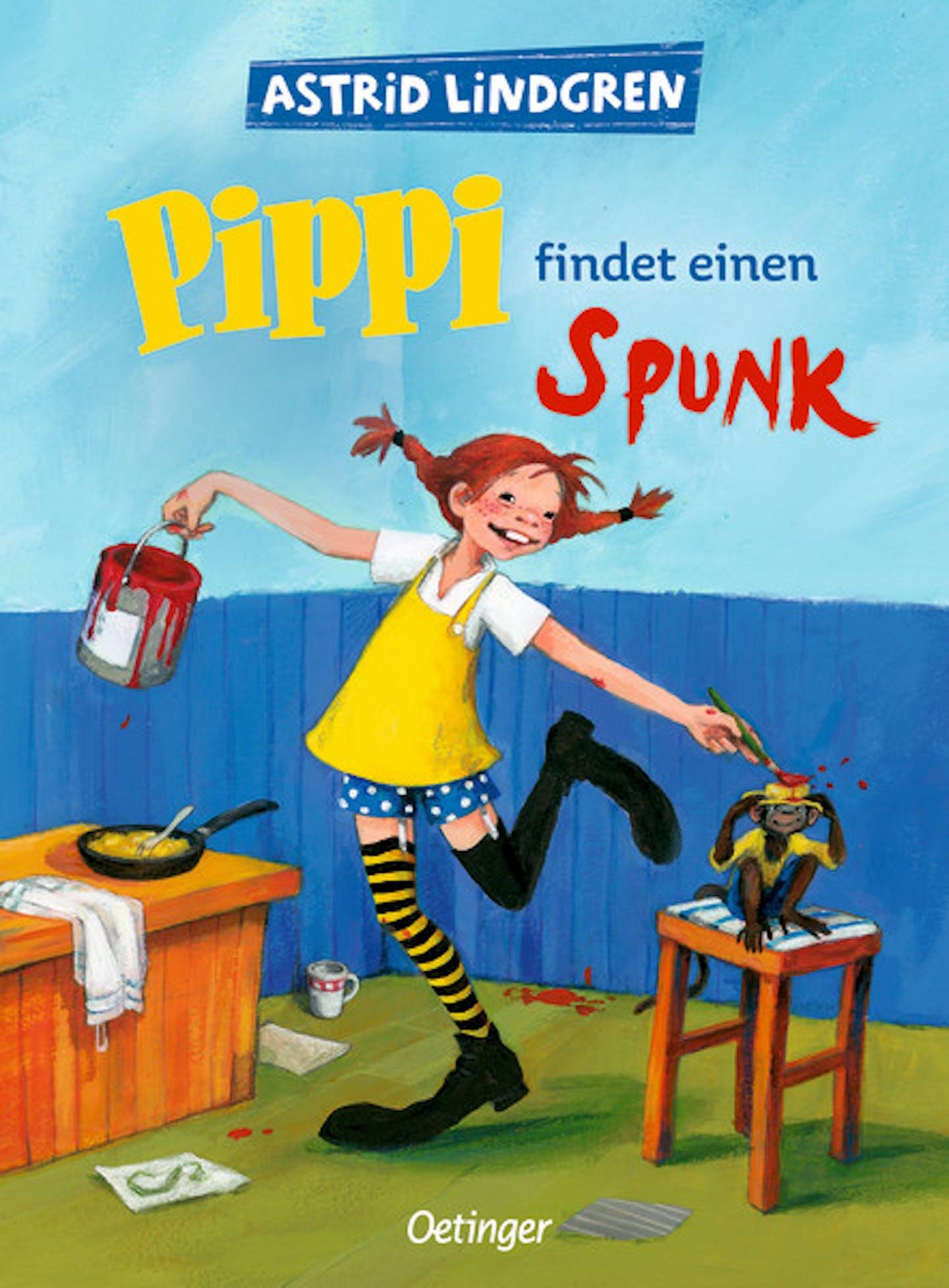Cover Pippi findet ein Spunk