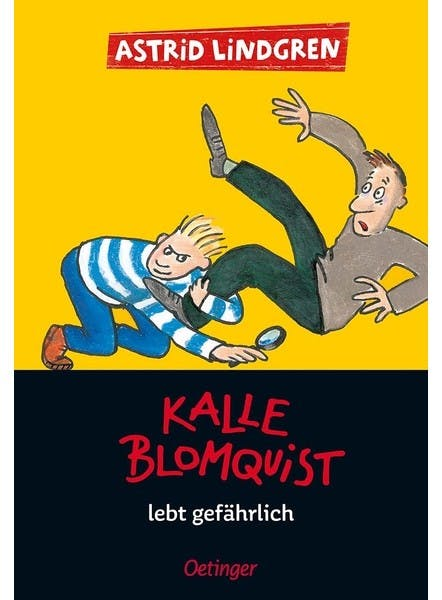 Cover Kalle Blomquist lebt gefährlich
