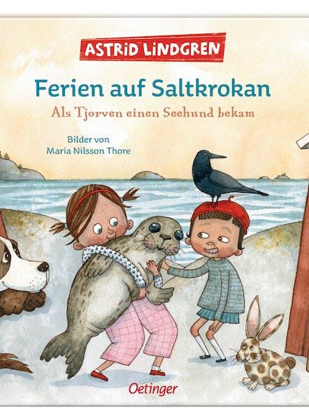 Cover: Ferien auf Saltkrokan: Als Tjorven einen Seehund bekam