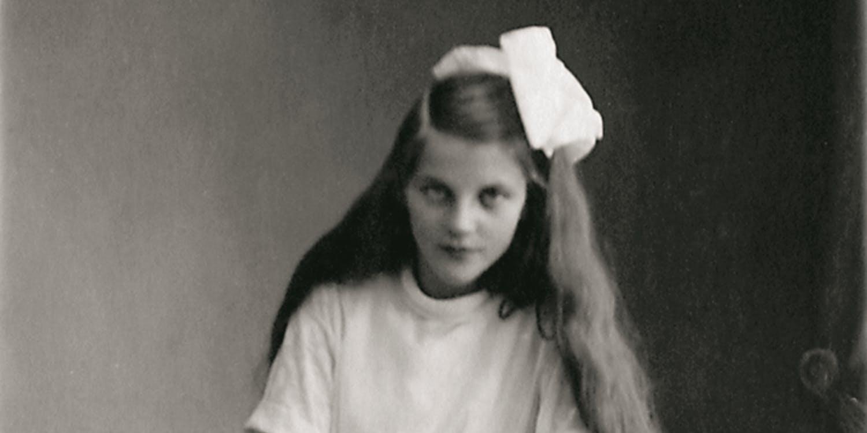 Astrids vän Anne-Marie 1921