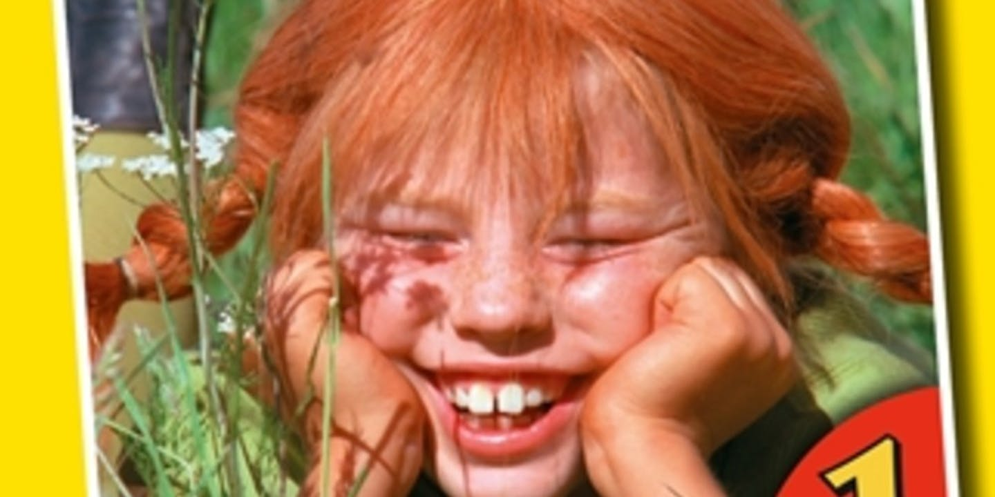 Film tv poster Pippi Långstrump