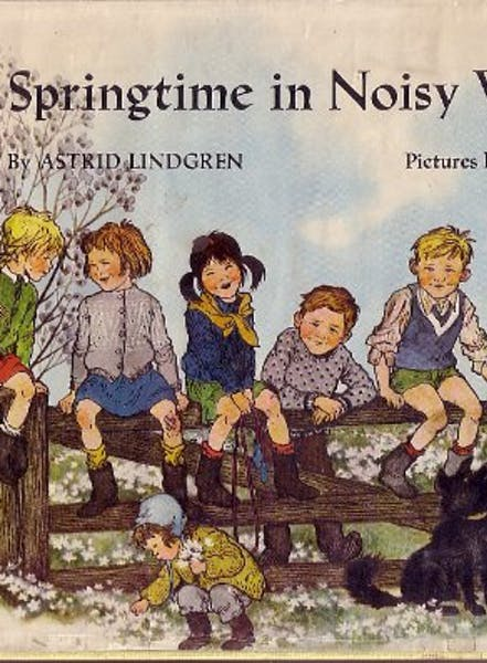Cover of Springtime in Noisy Village