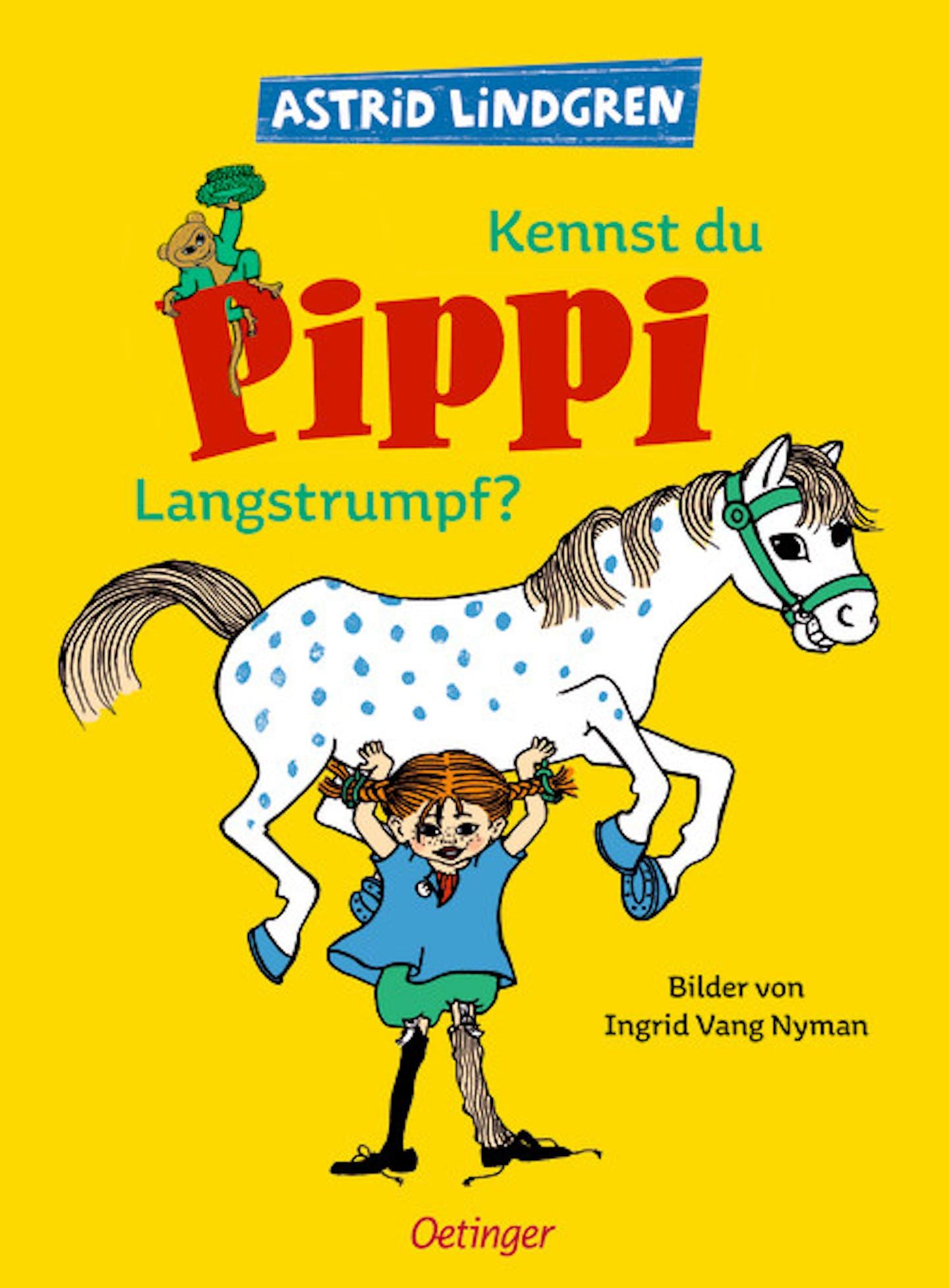 Cover Kennst du Pippi Langstrumpf?