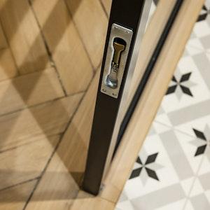 Double Glass Doors detail 2