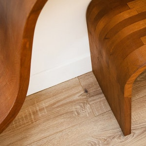 Chestnut Bookcase detail 1