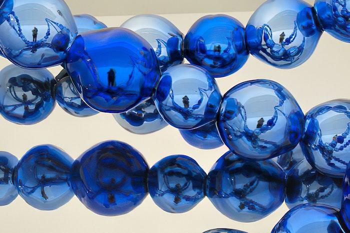 """""""Les Lacets Bleus"""" by Jean-Michel Othoniel"""