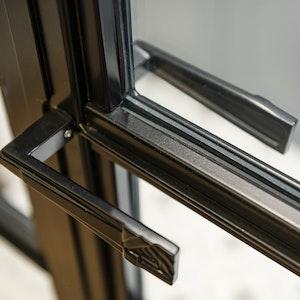 Double Glass Doors detail 1