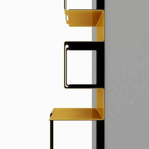 Bibliothèque en Acier detail 1