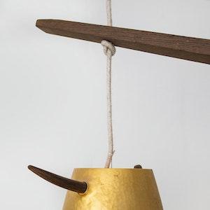 Suspension en laiton detail 2