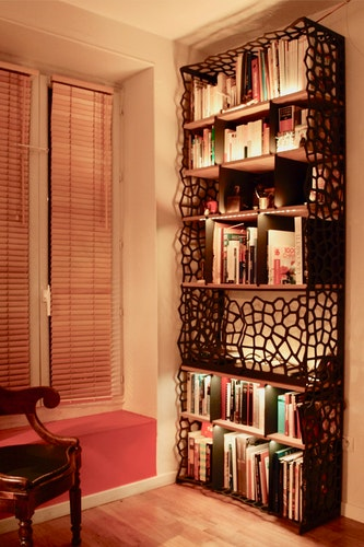 Fishnet Bookcase