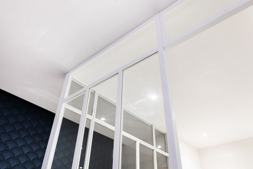 Glass Bathroom Partitions photo 2