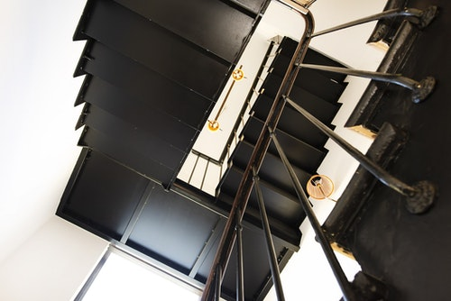 Black Stairwell photo 1