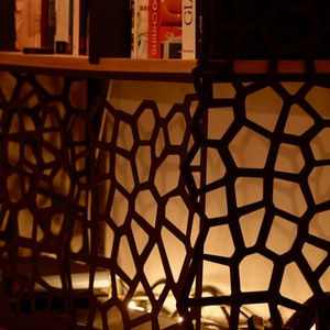 Bibliothèque Résille detail 1