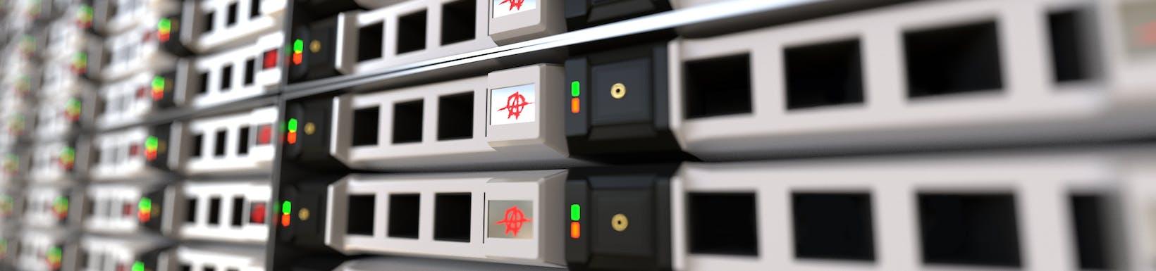 Serwery w data center, infrastruktura techniczna data center