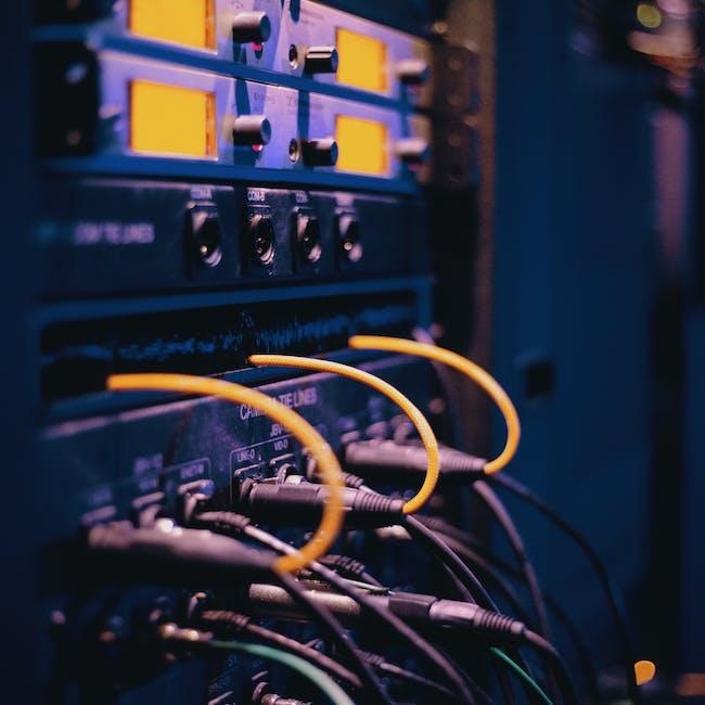 Okablowanie wykorzystywane w sieciach data center