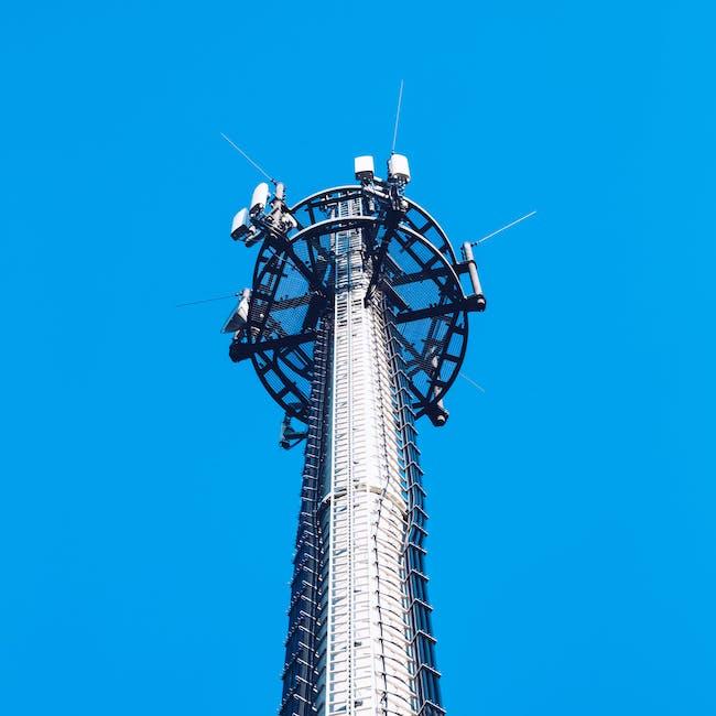 Maszt, wieża telekomunikacyjna
