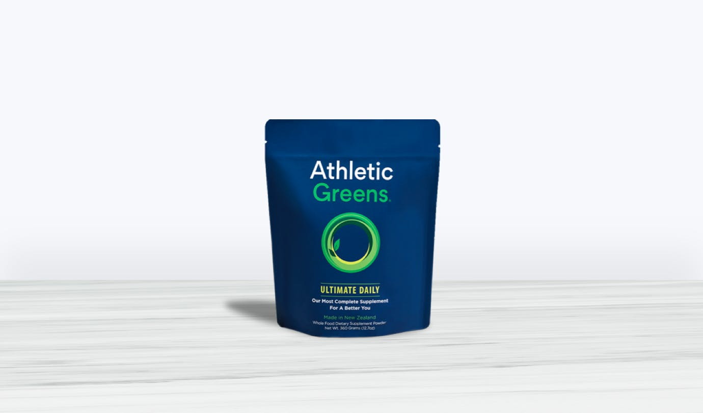 Single Athletic Green Pouch