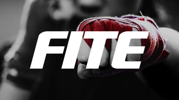 Wrapped boxing hand with FITE logo - Atmosphere TV