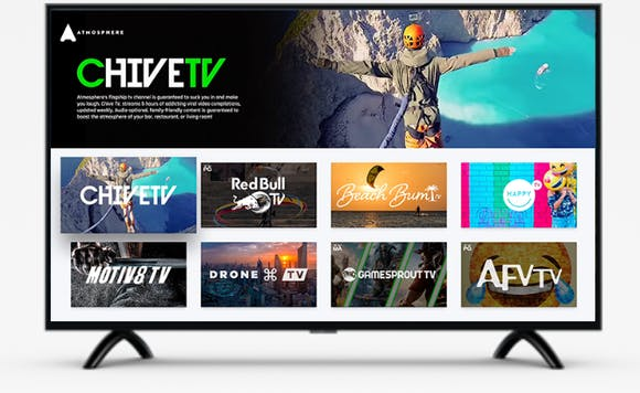 chive tv channel on a tv screen