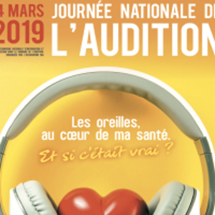 Affiche journée nationale de l'audition