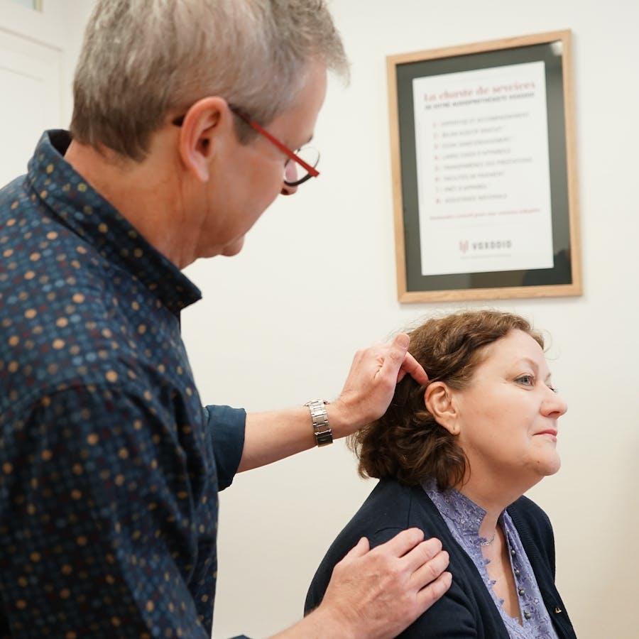 Consultation avec audioprothésiste
