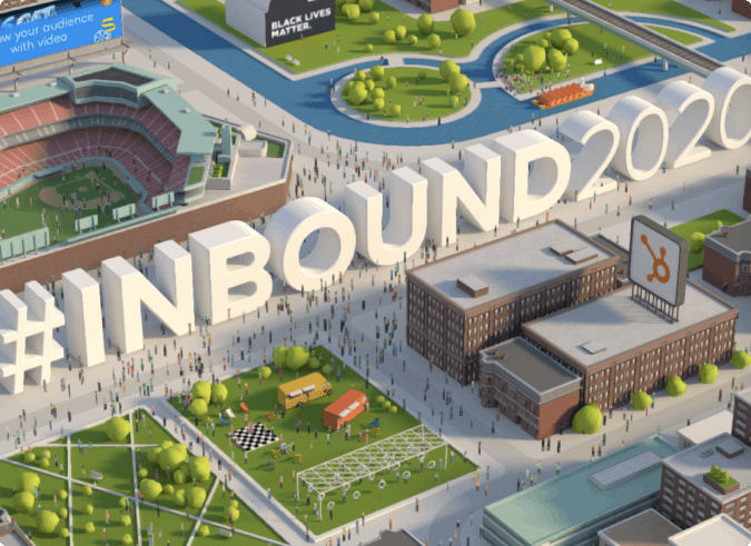 Image of INBOUND 2020 event Website