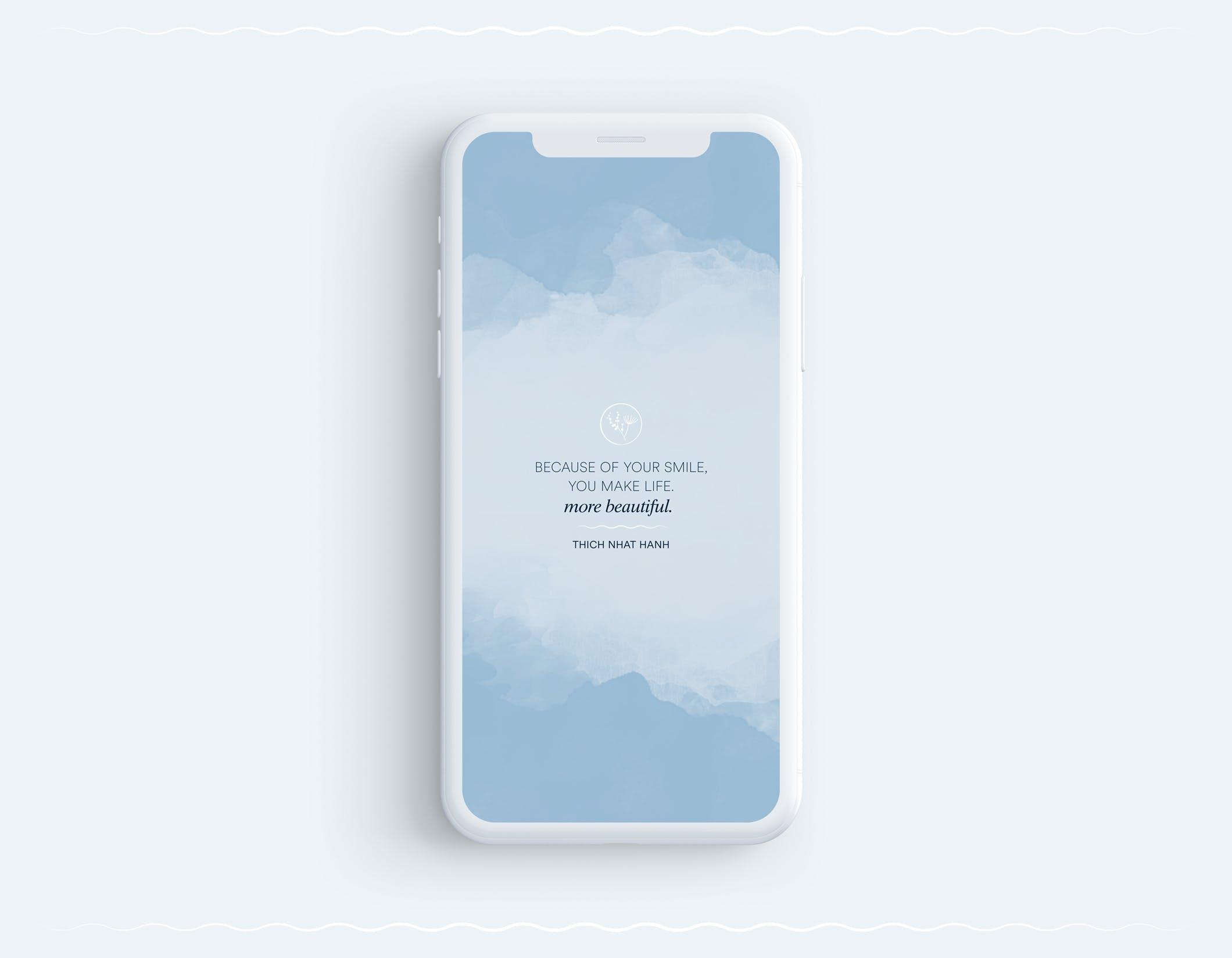 iphone quote wallpaper