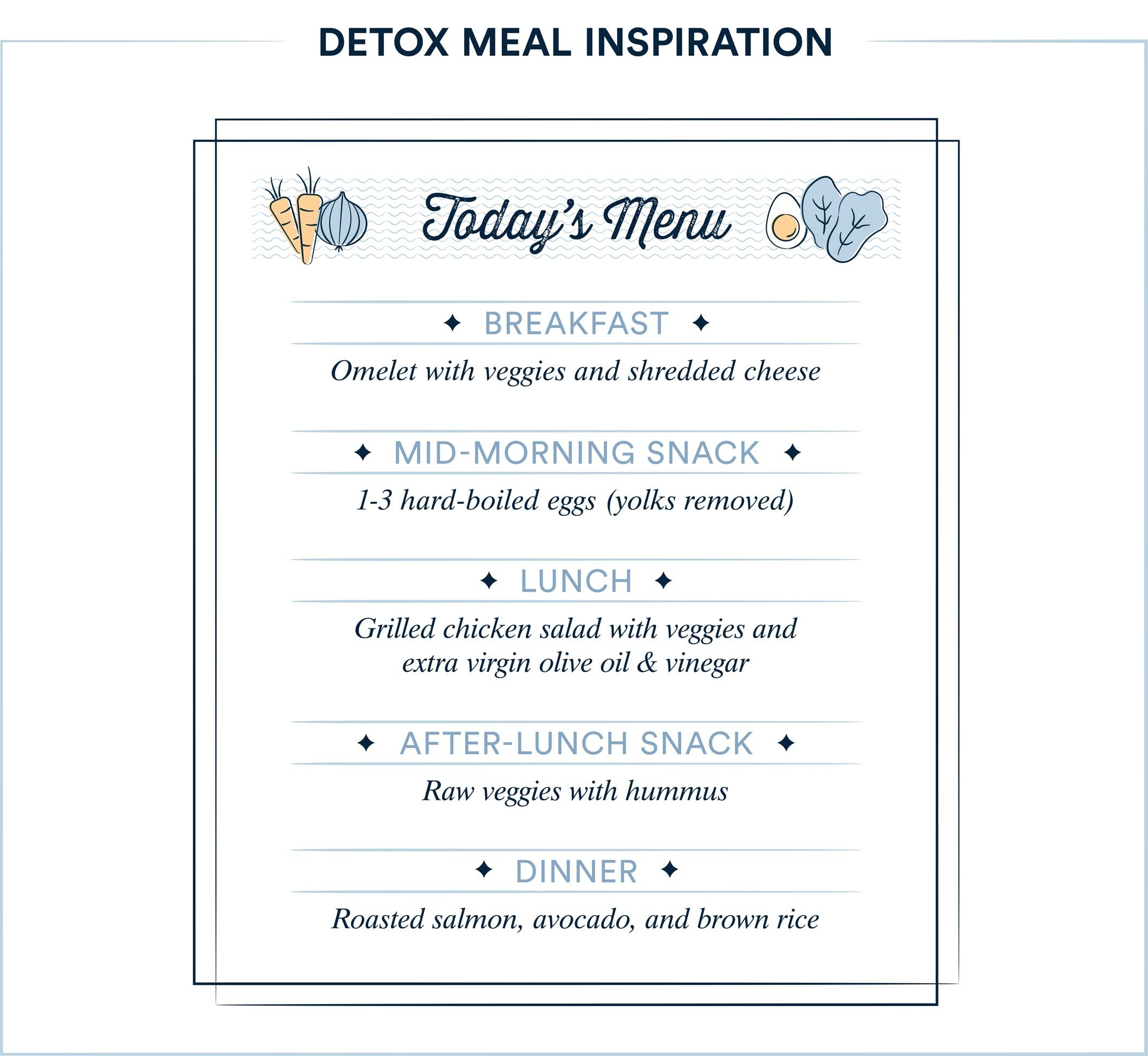 detox meal inspiration
