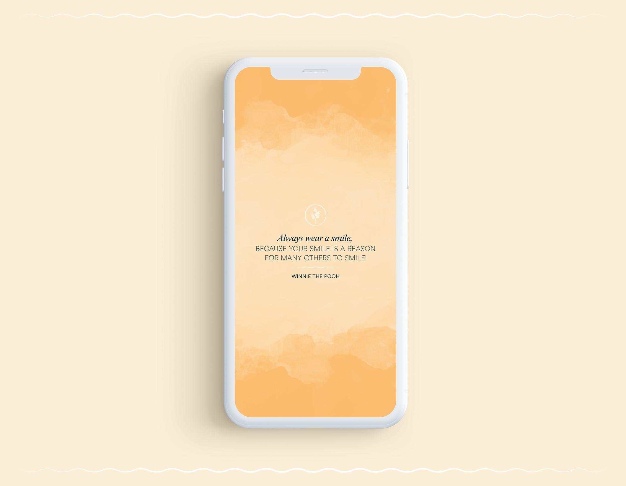 smile iphone wallpaper