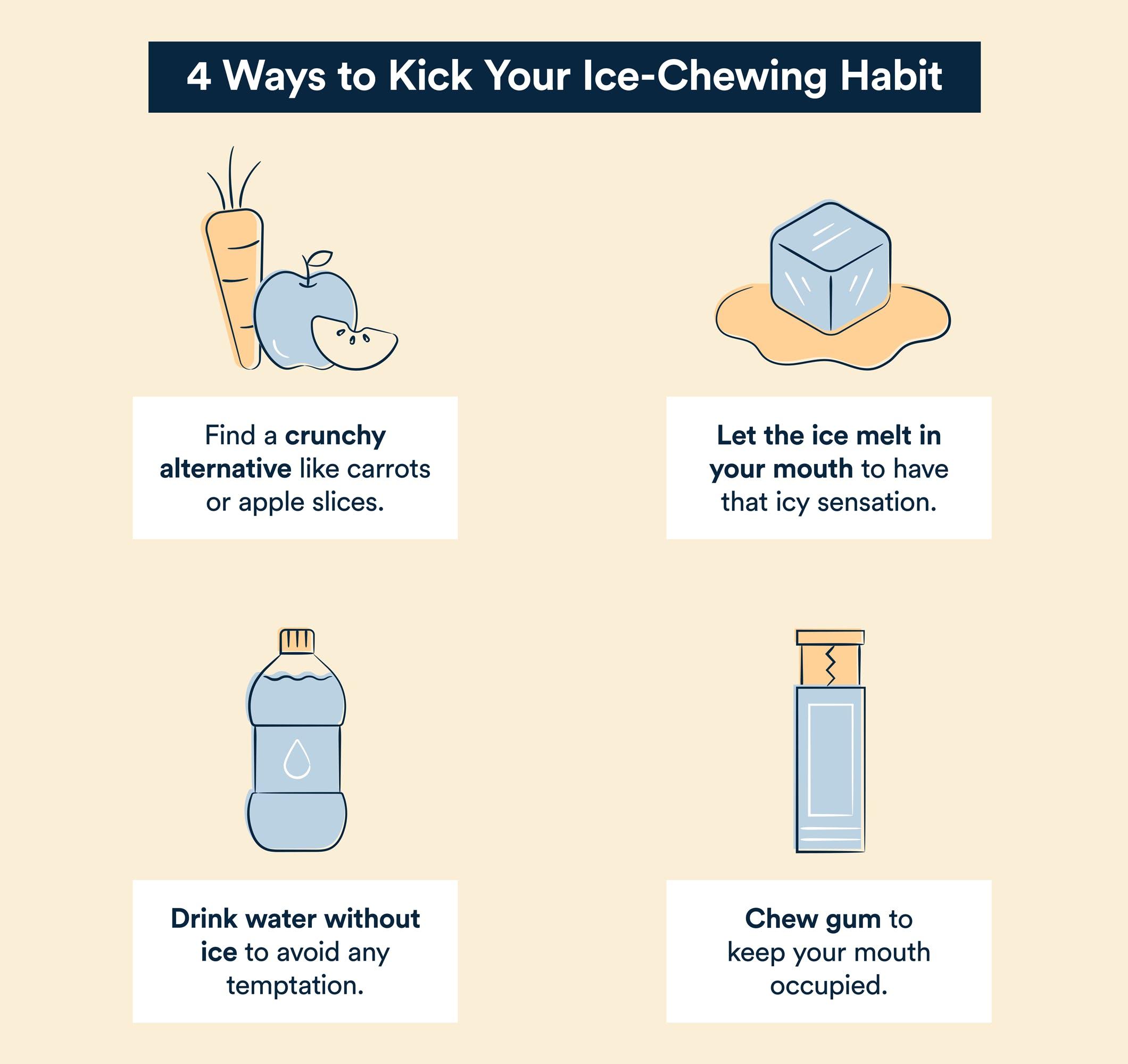 4 ways to kick ice chewing habit