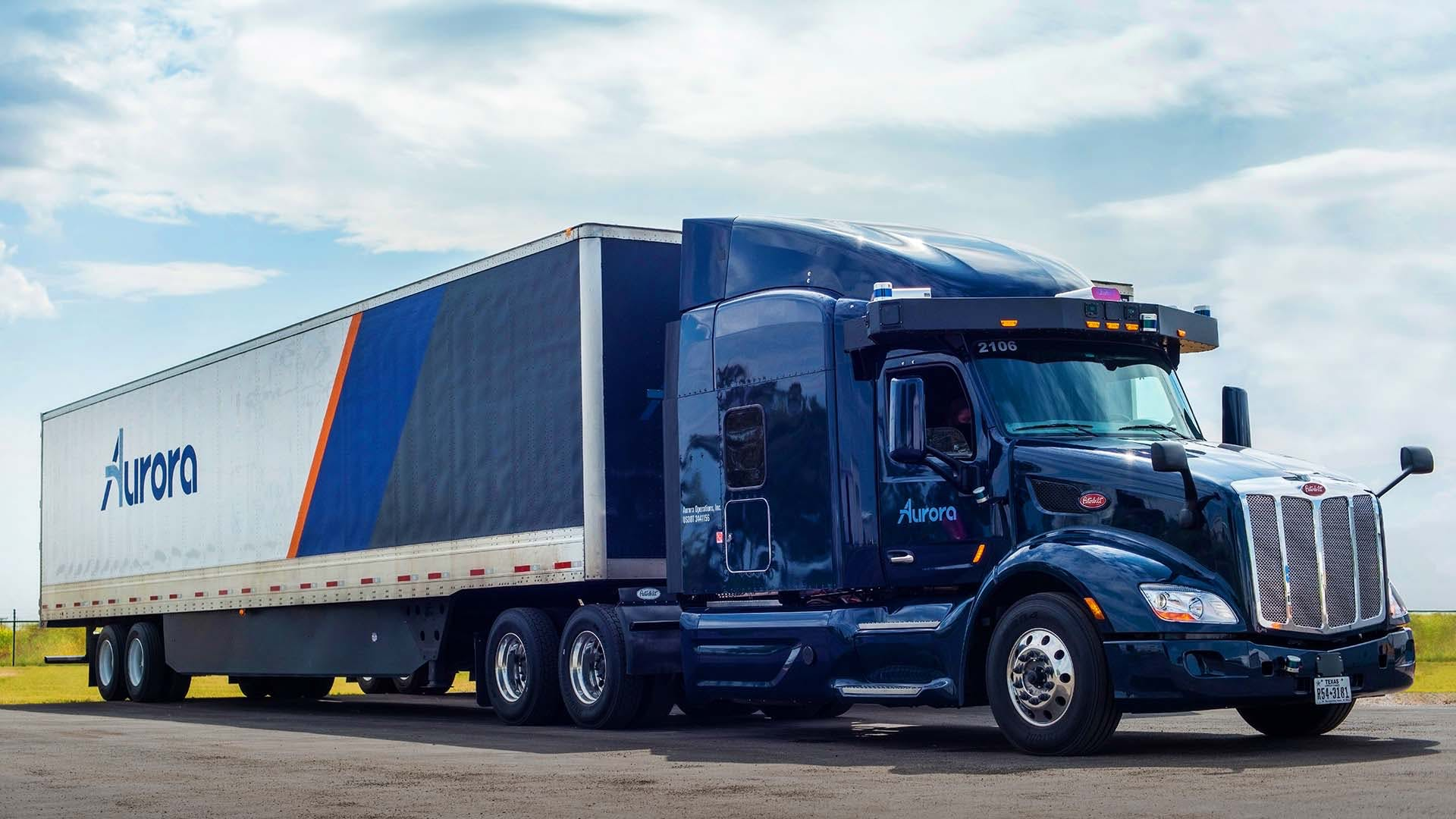 Aurora Self-Driving Truck