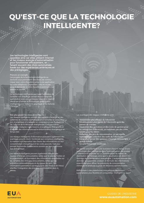 Qu'est-ce que la technologie intelligente?