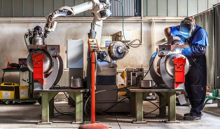 sulle tre regioni leader nel settore della robotica