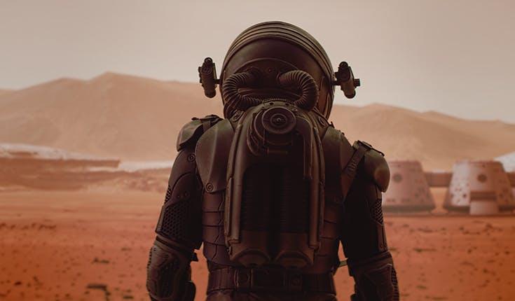 Las tecnologías de automatización están ayudando a revolucionar la idea de los humanos en Marte.