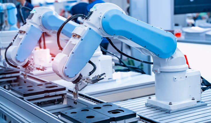 robot stanno automatizzando la produzione