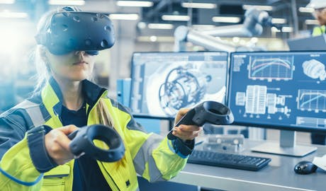 Virtual and augmented reality in manufacturing