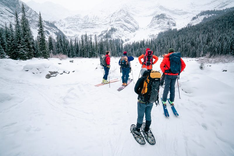 Students in an AST 1 class in the Canadian Rockies