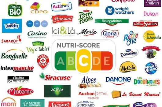 Les marques qui utilisent le Nutri-Score