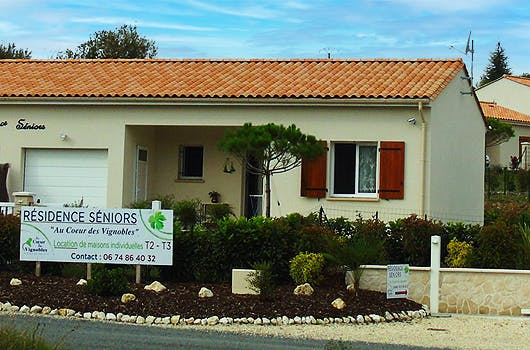 """La résidence seniors """"Au coeur des vignobles"""" à Mirambeau"""