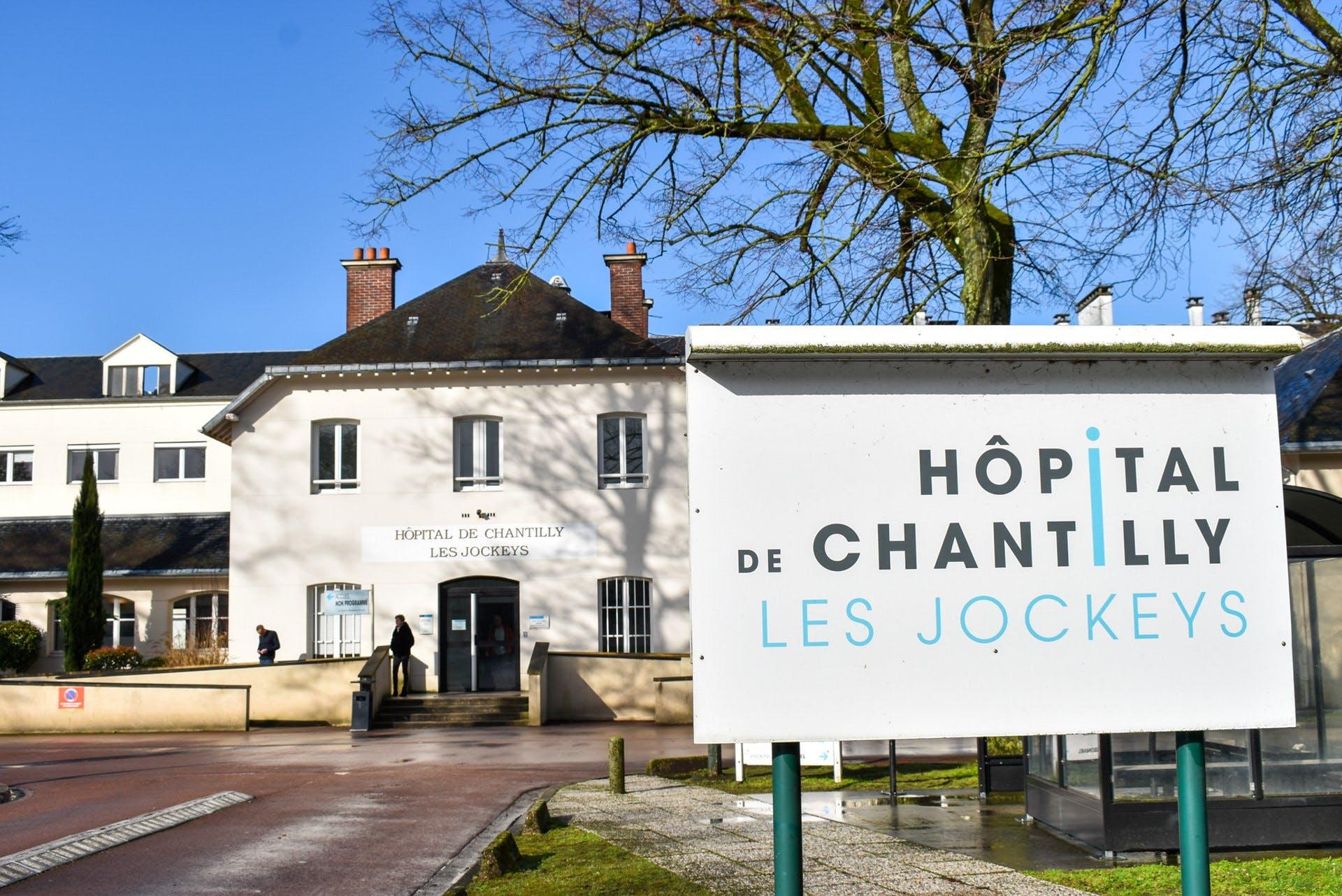 Hôpital de Chantilly Les Jockeys