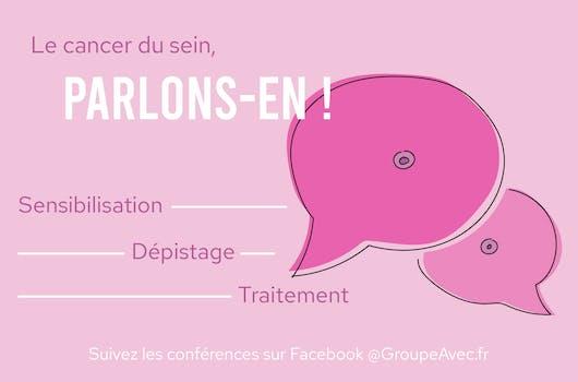 Octobre Rose : le cancer du sein, parlez-en avec des professionnels de santé du Groupe AVEC !