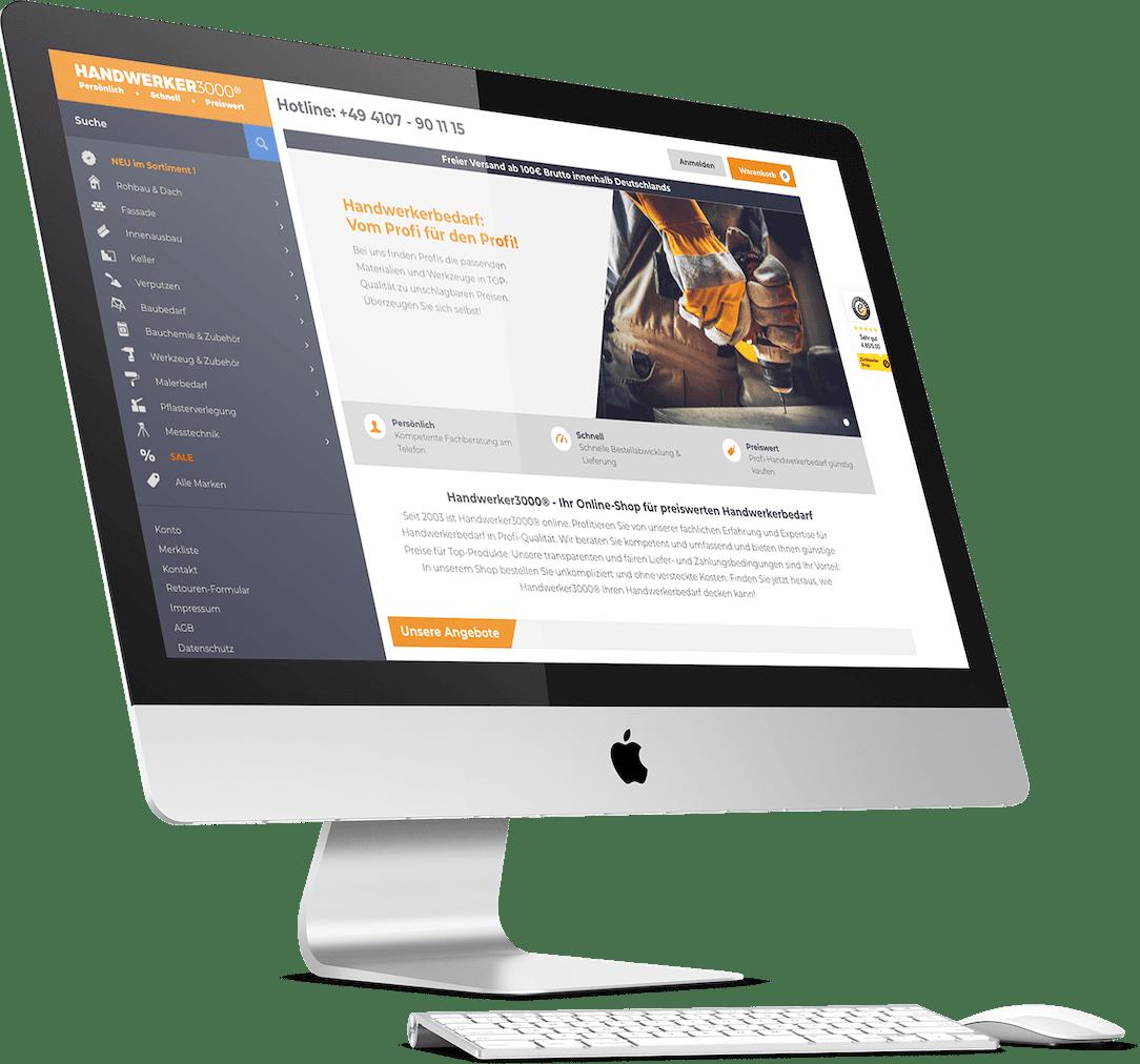 Handwerker Website